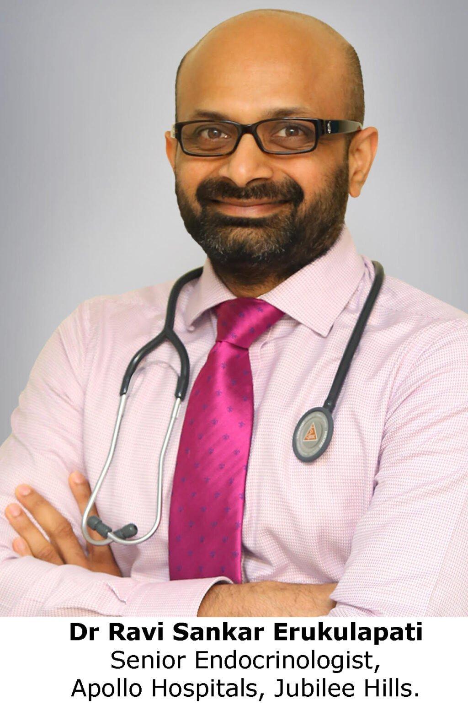 Dr Ravi Sankar Erukulapati Senior Endocrinologist, Apollo Hospitals, Jubilee Hills.