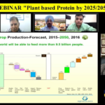 """German strategist Dr. Manfred Kern from AgriExcellence delivered the webinar on """"Plant based Protein by 2025/2050"""""""