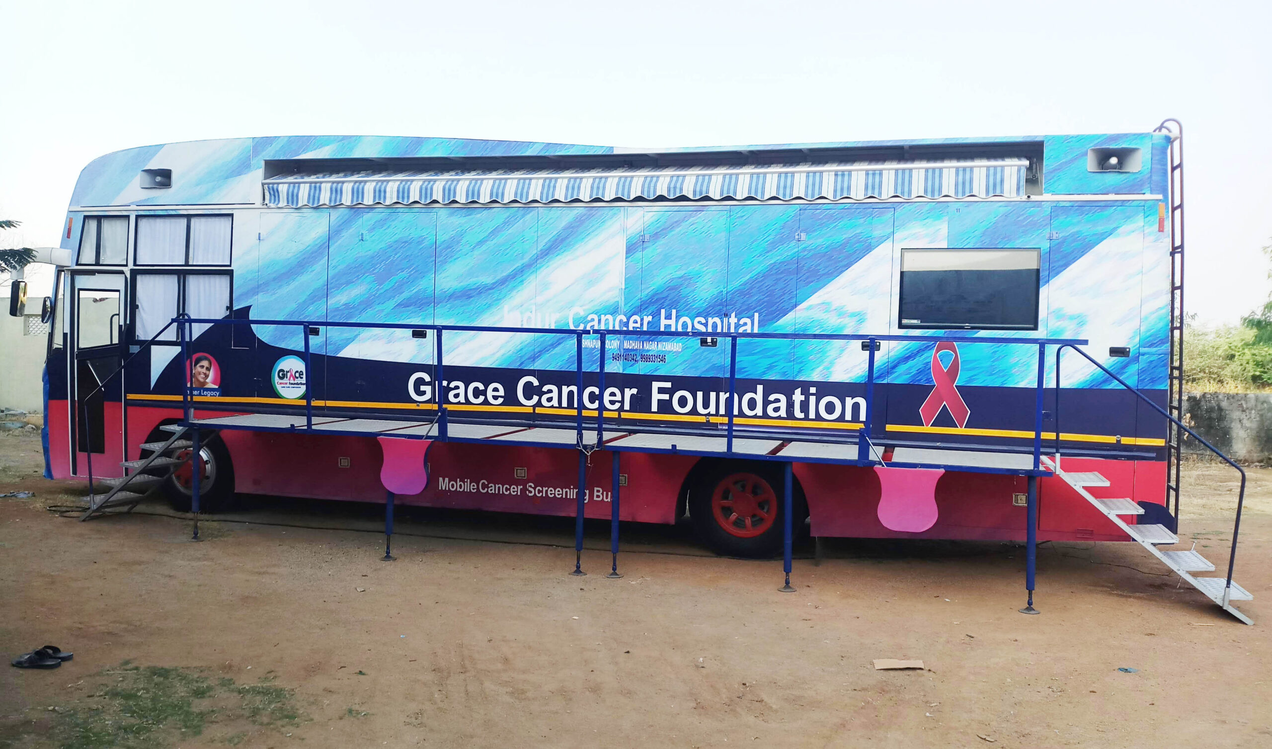 Grace Cancer Foundation & Indur Cancer Hospital, along with Govt. of Telangana, to screen the Nizamabad population for Cancer!