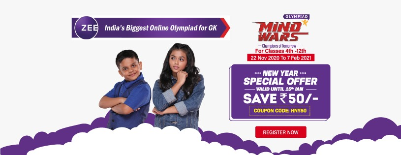 Mind Wars launches India's biggest online GK Olympiad for school students across India