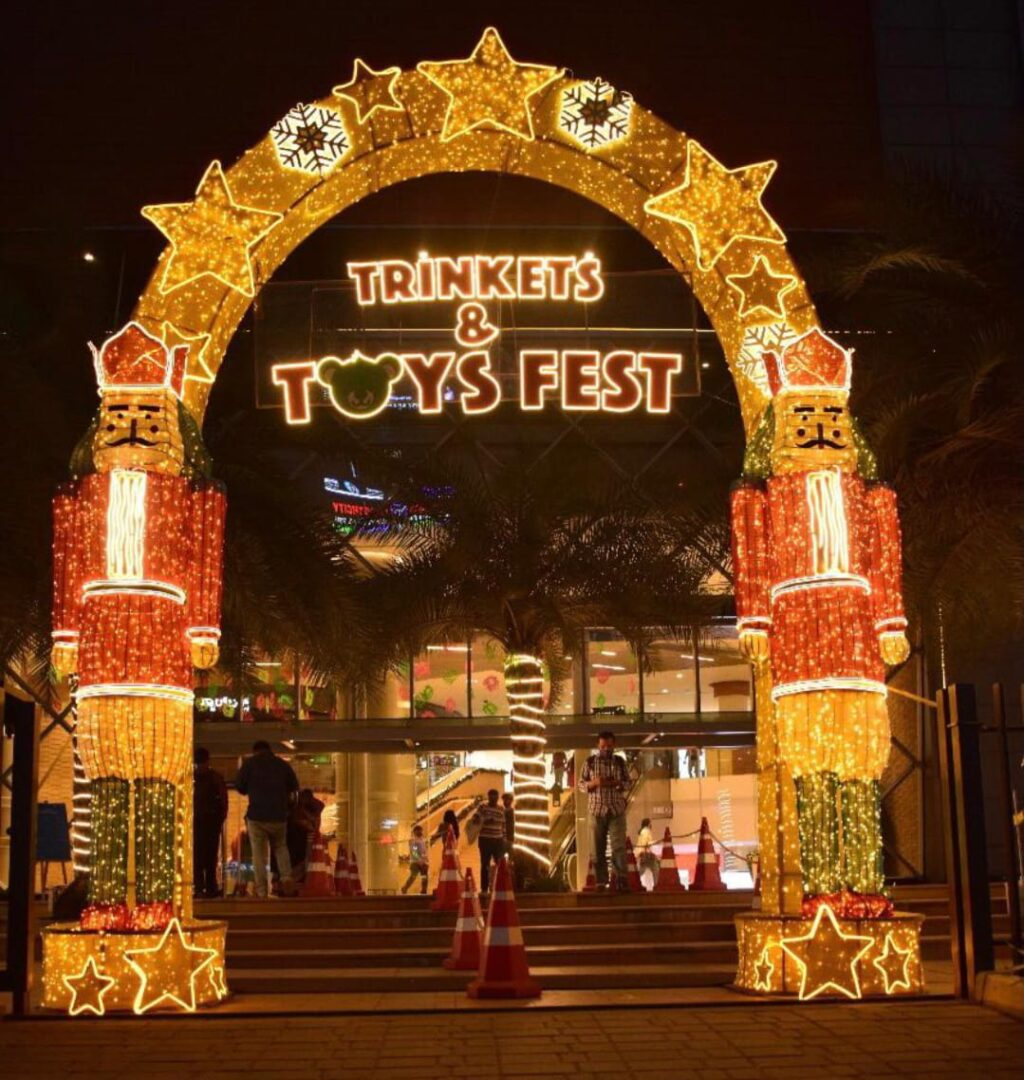 The Galleria Mall concludes its 'Year-end' celebration with a magical blast!