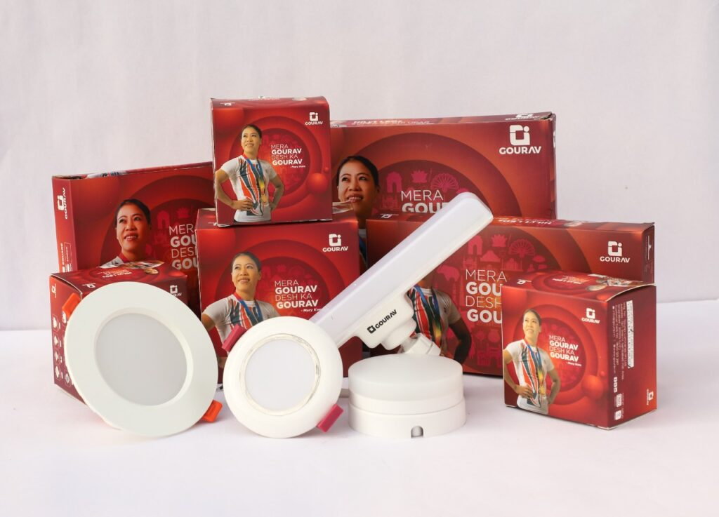Gourav – a household brand for electrical products introduces their new product range 'Hilyt'