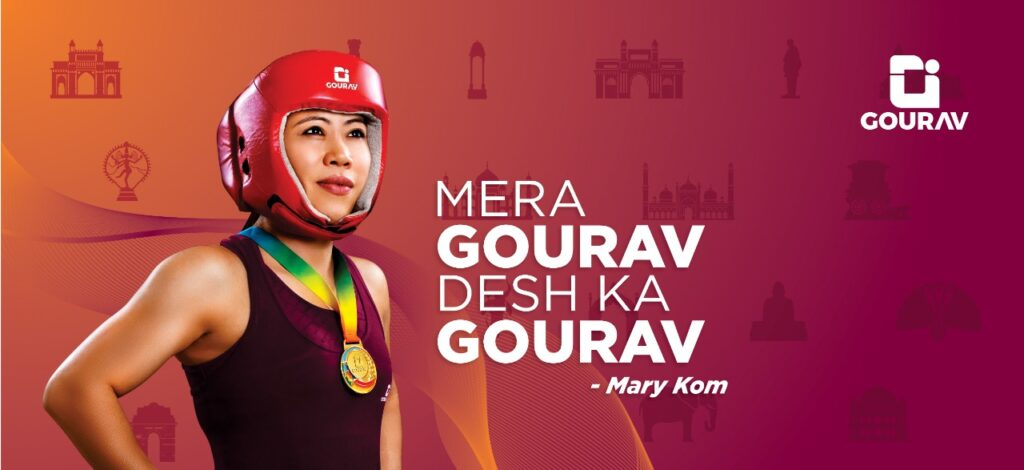 Gourav – ahousehold brand for electrical products ropes in boxing legend, Mary Kom, as their Brand Ambassador, launches its new logo