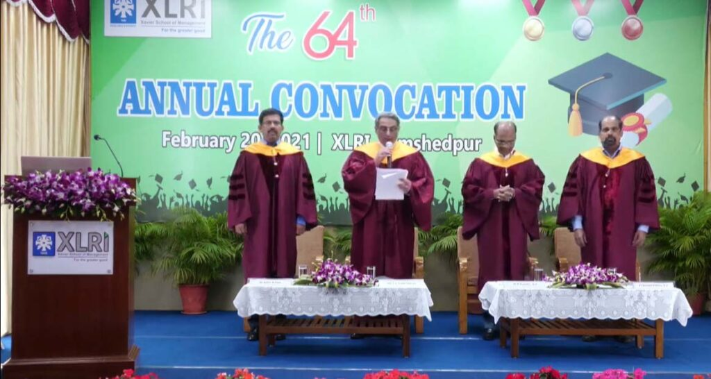 XLRI Celebrates 64th Annual Convocation