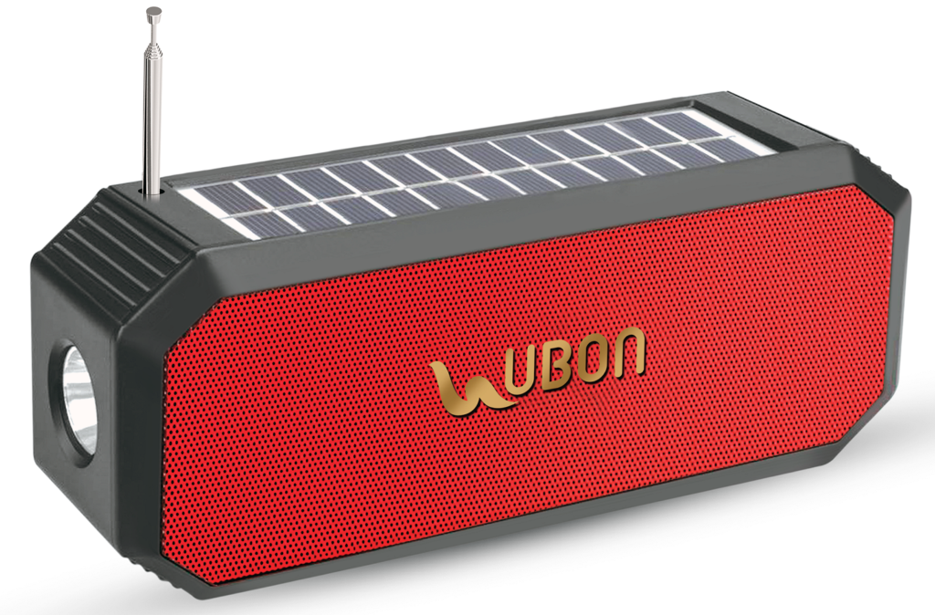 UBON adds one more feather to its cap in the SOLAR Bluetooth Speaker series